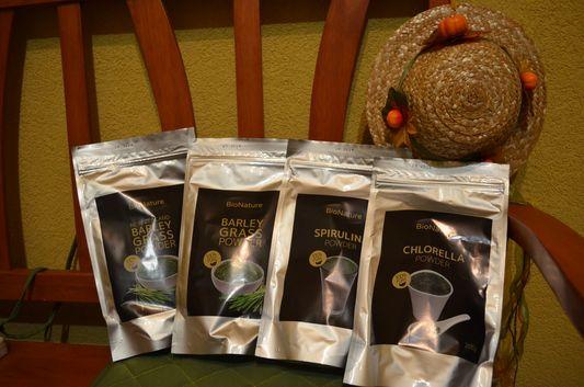 zelene produkty z bionature.sk