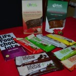 raw vegan Lifefood energy bars and crispbread