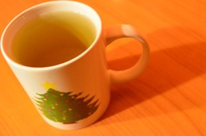 green green tea to burn calories easily